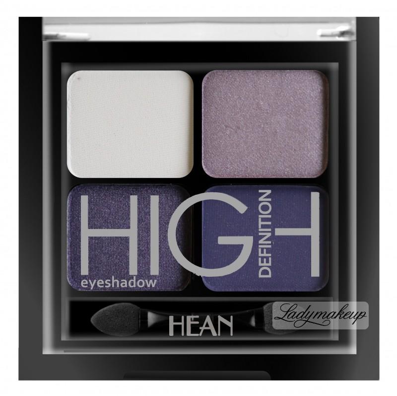 HEAN High Definition Eyeshadow - Zestaw 4 cieni do powiek - 407 - VIOLET CHIC HEAZ4C-407