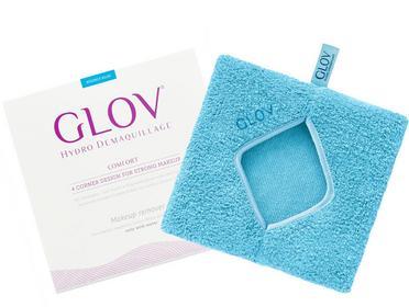 GLOV Comfort Duża Rękawica do Demakijażu Bouncy Blue