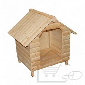 Drewniany domek, buda dla psa 64 x 74 x 76 cm V_133841694