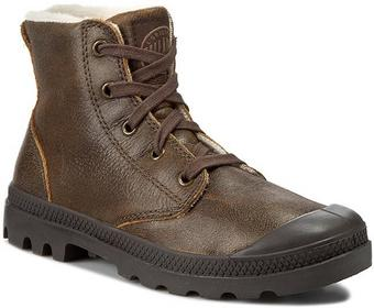 Palladium Trapery - Pampa Hi Leather S 92609272 Sunrise Pilot skóra naturalna -