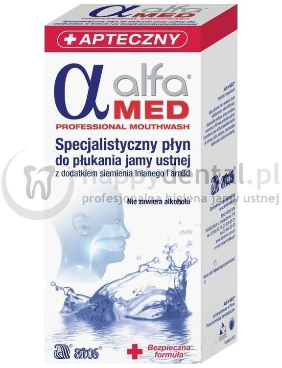 Atos ALFA MED Professional 200ml - specjalistyczna płukanka przed, w trakcie i p