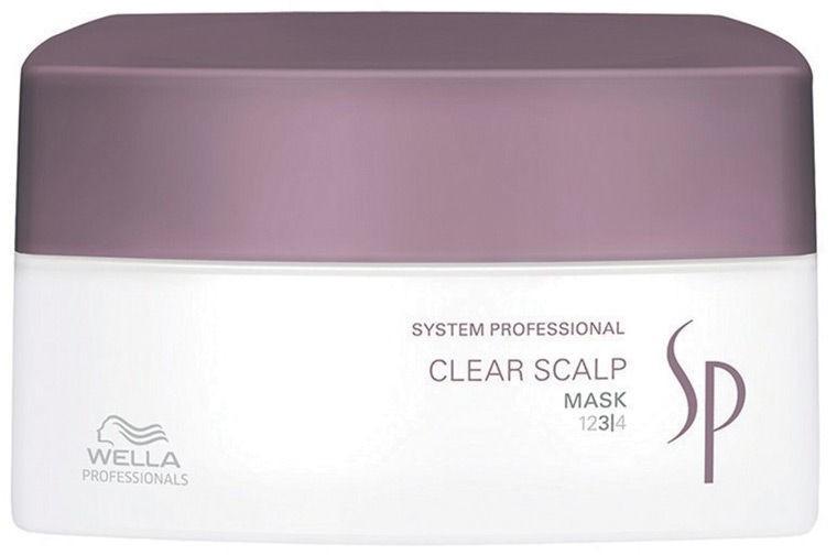 Wella SP Sp Clear Scalp Maska przeciwłupieżowa 200ml