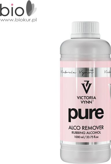Pure VICTORIA VYNN ALCO REMOVER płyn do usuwania kremowego lakieru hybrydowego na bazie alkoholu 1L