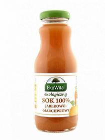Eko Wital Sok jabłkowo-marchwiowy 100 % BIO 250 ml