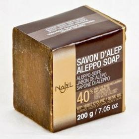 ALEPPO Mydło w kostce oliwkowo-laurowe 200g (40% oleju laurowego) Najel