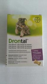 Bayer Drontal Dog Flavour 2Tabl Kostki