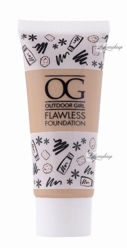 W7 Outdoor Girl Flawless Foundation - Lekki podkład do twarzy - NATURAL BEIGE W7GFDTW-DOTW-02