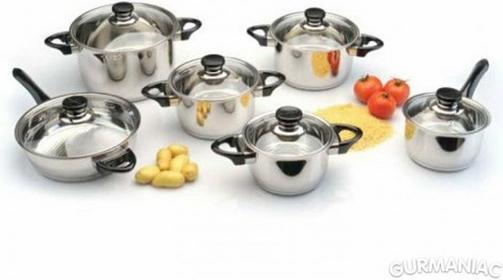 Cook & Co Zestaw garnków 11 cz. 2801826