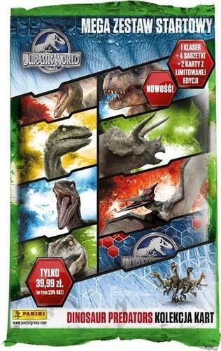 Panini Mega Zestaw startowy Jurassic World