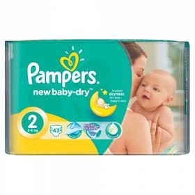 Pampers Procter & Gamble New Baby Pieluchy jednorazowe 2 Mini Mini 43 szt.