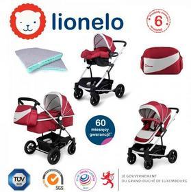 LIONELO  LUNA 3w1 Czerwony