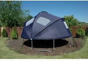 Euro Trampolina ogrodowa z namiotem i drabiną 427 cm (14ft)