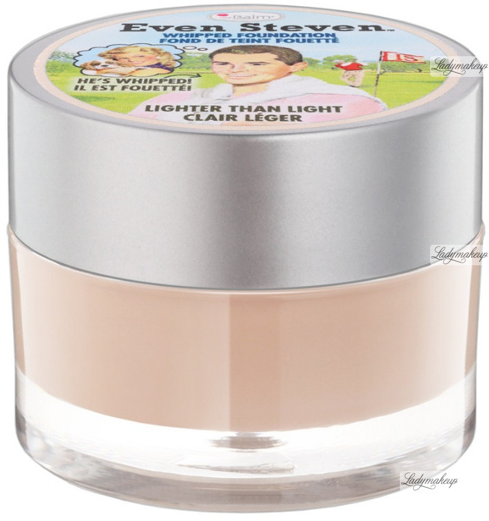 The Balm Even Steven - WHIPPED FOUNDATION - Kremowy podkład do twarzy - MEDIUM THESFPTW-DOTW-05