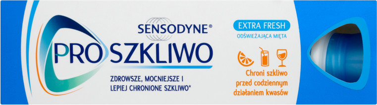 GlaxoSmithKline GLAXO GROUP LTD. Pasta do zębów PRO SZKLIWO Extra Fresh 75 ml 7057713