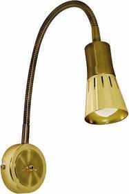 Candellux kinkiet regulowany LAMPA ścienna OPRAWA nad ŁÓŻKO do czytania PESZEL spot ARENA 91-84470 Złoto