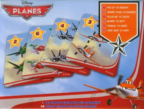 Lisciani Karty Gigant Planes