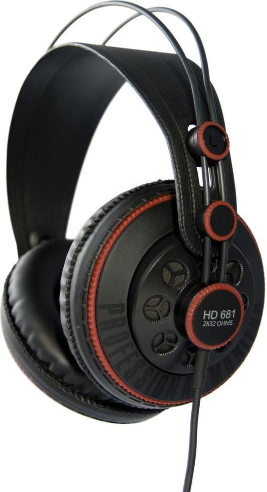 Superlux HD681 Czarno-czerwone