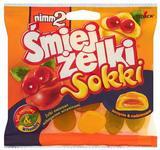 Storck Żelki owocowe nimm2 Śmiejżelki Sokki nadziewane wzbogacone witaminami ora