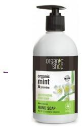 Natura Siberica Organic Shop Minty Jasmine Hand Soap U) mydło do rąk 500ml