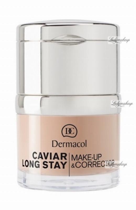 Dermacol Caviar Long Stay Make-Up & Corrector - Długotrwały podkład i korektor - 1 DERLMCPKO-IKO