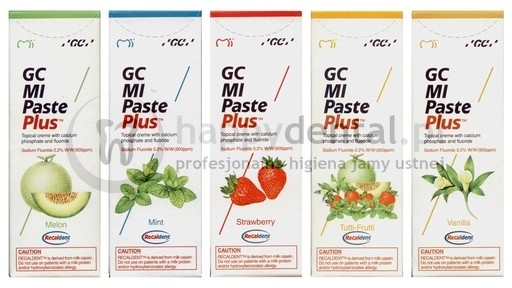 GC Corporation GC MI Paste Plus 35ml - ochronna pasta, udoskonalona remineraliza
