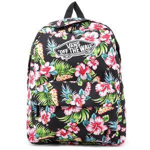 plecak vans czarny w kwiatki