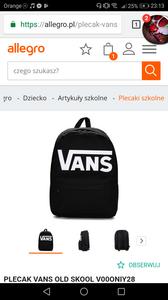 d1b764fb02c20 Czy plecaki vans nadają się do 7 klasy  - Zapytaj.onet.pl -
