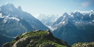 Rozsypane prochy w górach