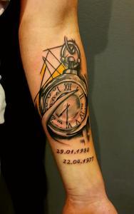Z Jakim Tatuażem Połączyć Tatuaż Zegar Przedramię Zapytajonetpl