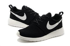 Rosh Courir Nike Noir Et Femmes Blanches Marinade Allegro