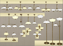 MN Interiors. Lampy mosiężne, żyrandole, oświetlenie