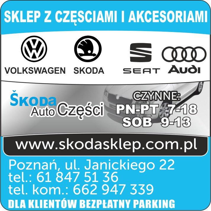 Ogromny Skoda Auto Części Kafal S.C., Poznań - Mapa Polski w Zumi.pl IX44