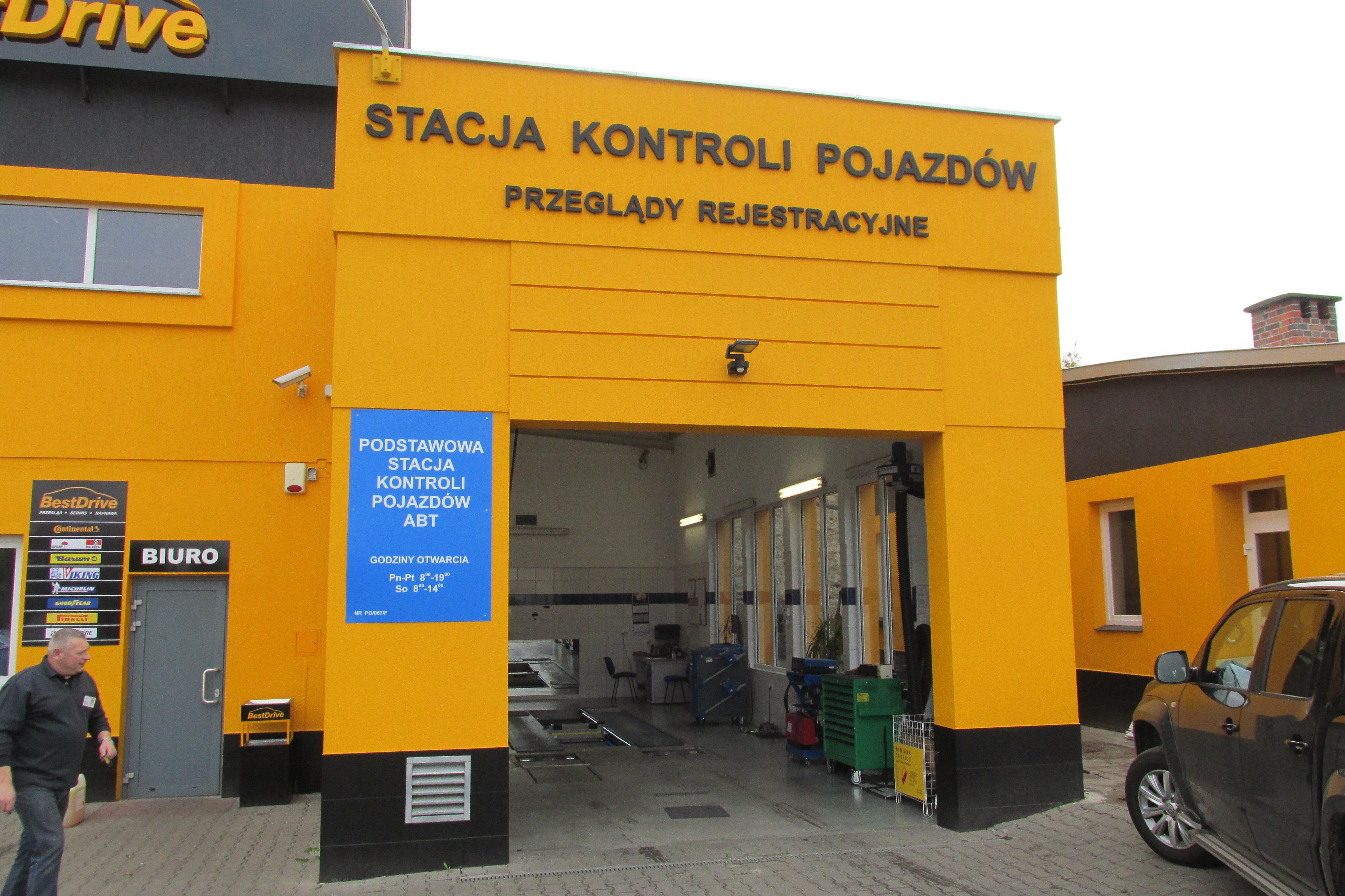 Ogromnie CKS BestDrive - wymiana opon, myjnia samochodowa, stacja kontroli LD44