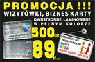Drukmix Krzysztof Czarnecki. Wizytówki, reklama 602 66 22 62