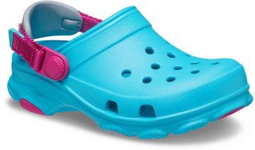 Crocs Classic All-Terrain Clogs Kids, turkusowy EU 19-20 2021 Sandały codzienne