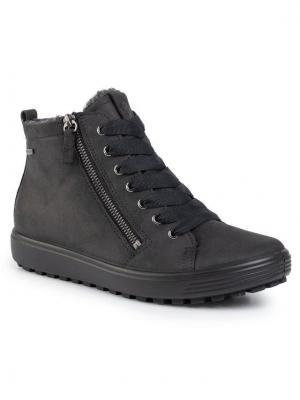 ECCO Sneakersy Soft 7 Tred W GORE-TEX 45016302001 Czarny