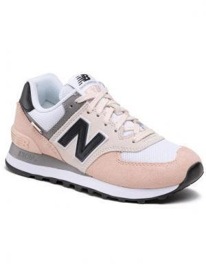 New Balance Sneakersy WL574SK2 Beżowy