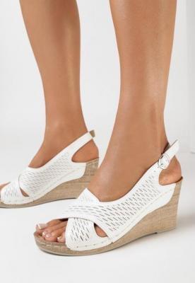 Białe Sandały Eutheithe