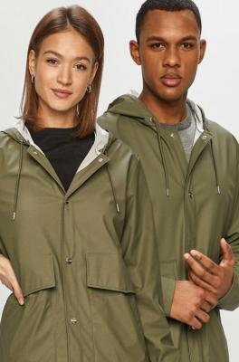 Rains - Kurtka przeciwdeszczowa Short Hooded Coat