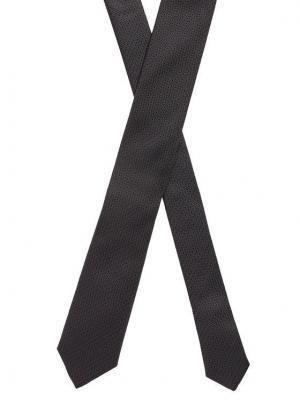 Boss Krawat Tie 6 Cm 50448773 Czarny