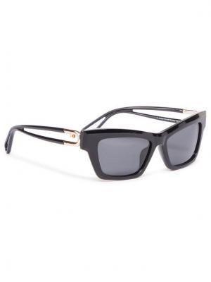 Furla Okulary przeciwsłoneczne Sunglasses SFU465 WD00006-ACM000-O6000-4-401-20-CN-D Czarny