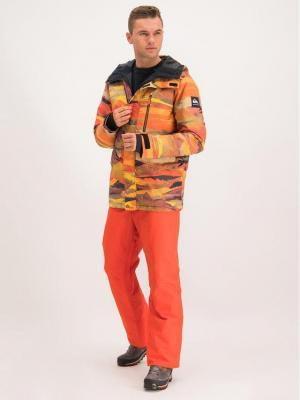 Quiksilver Spodnie snowboardowe EQYTP03116 Pomarańczowy Modern Fit