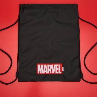 Cropp - Plecak worek Marvel - Czarny