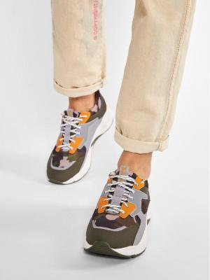 Timberland Sneakersy Delphiville Sneaker TB0A213DA581 Zielony