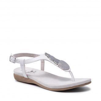 Sandały JANA - 8-28101-26  White 100