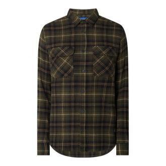 Koszula flanelowa o kroju regular fit z bawełny model 'Jonas'