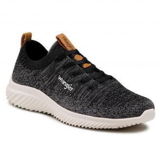 Sneakersy WRANGLER - Freesbee Lace WL11530A Black