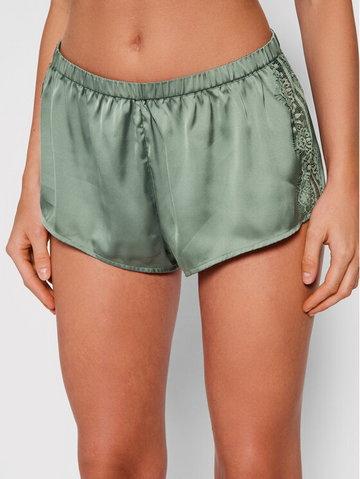 Szorty piżamowe Satin Secrets 23H640 Zielony