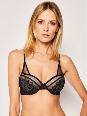 Calvin Klein Underwear Biustonosz balkonetka 000QF5878E Czarny