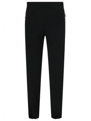 Patrizia Pepe Spodnie materiałowe 2P1299/A9A2-K103 Czarny Regular Fit